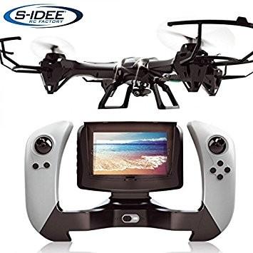 s-idee® 01608 Quadrocopter Udi U842-1 FPV 5.8 GHz Übertragung HD KAMERA U842 4.5 Kanal 2.4 Ghz Drohn